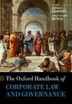 The Oxford Handbook of Corporate Law and Governance by Jeffrey N. Gordon and Wolf-Georg Ringe