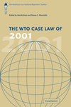 The WTO Case Law of 2001-2011