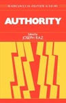 Authority by Joseph Raz